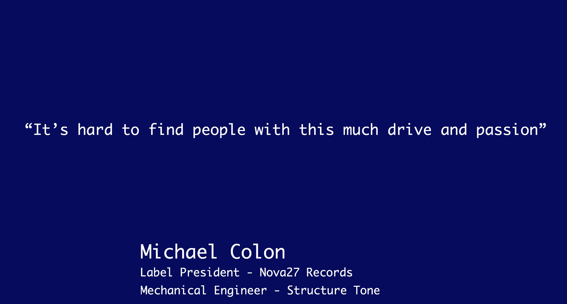 Michael Colon Quote
